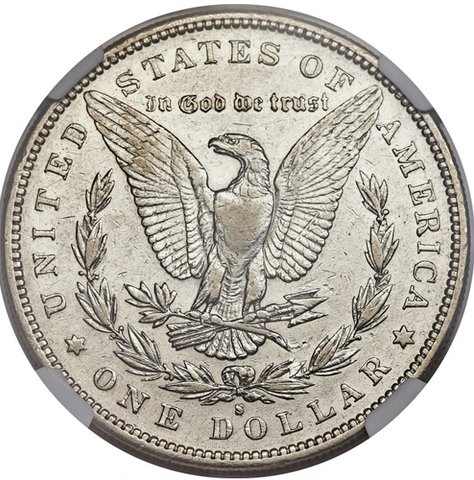 (Key-Date) 1893-S Morgan Dollar NGC AU50 (#1 of Top 10)