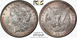 Image of 1895-O MORGAN DOLLAR PCGS MS62