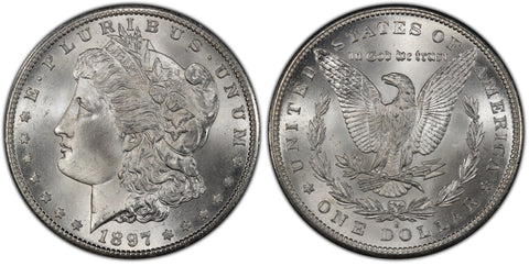 1897-S Morgan Silver Dollar (36 of 50)  - (R5)  - As part of the (50) and (10) coin set, this coin is available. As a single coin purchase in this venue, refer below.