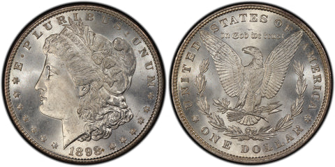 1898 Morgan Silver Dollar (37 of 50) - (R2)  - As part of the (50) and (10) coin set, this coin is available. As a single coin purchase in this venue, refer below.