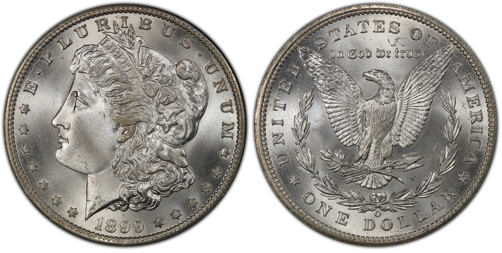 1899-O Morgan Silver Dollar (39 of 50) - (R2)  - As part of the (50) and (10) coin set, this coin is available. As a single coin purchase in this venue, refer below.