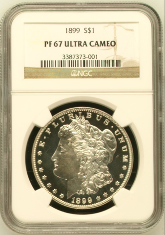 1899 Morgan Dollar NGC PR67 Ultra Cameo (#15 of Top 20)