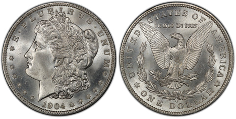 1904-O Morgan Silver Dollar (47 of 50) - (R2)  - As part of the (50) and (10) coin set, this coin is available. As a single coin purchase in this venue, refer below.