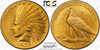 Image of 1907 Wire Edge Indian Eagle PCGS MS64