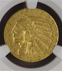 Image of 1909-O Indian Half Eagle NGC AU55