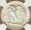 "Image of ""S"" on Obverse - 1917-S Obverse Walking Liberty Half Dollar NGC MS65"