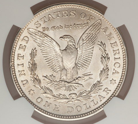 1921 (D) & (S) Morgan Silver Dollars in Mint State Condition