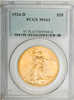 Image of 1924-D Saint Gaudens Double Eagle  PCGS MS63