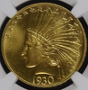 Image of 1930-S $10 Indian Head Eagle NGC MS65+