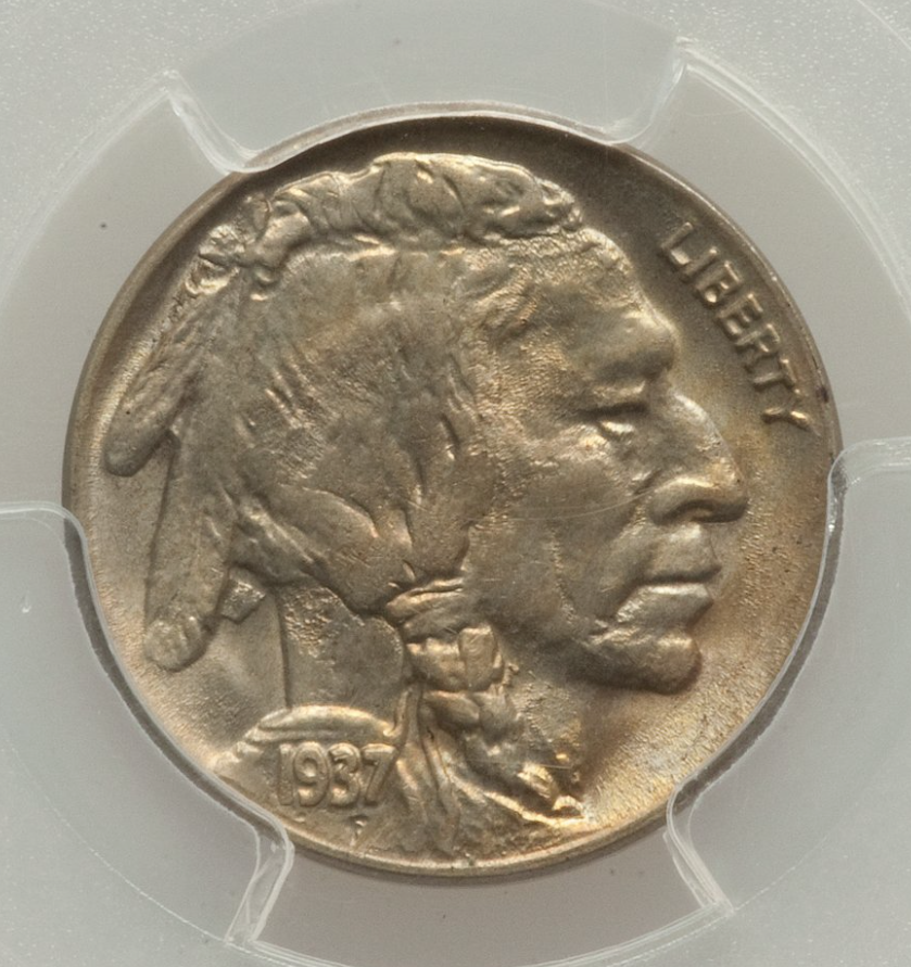 1937-D Three Legged Buffalo Nickel  PCGS/CAC MS65