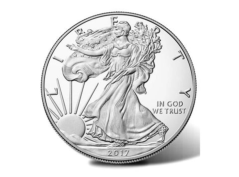 Silver Eagle 1oz  Coin (Dealers Choice) Call for Current Status