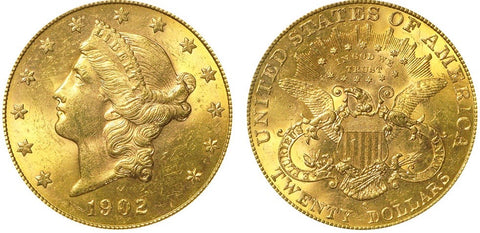 $20 Liberty US Gold Coins
