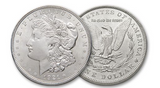 Image of Brilliant Uncirculated Morgan Silver Dollar