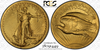 Image of A Most Beautiful US Coin Design 1907 $20 High Relief  PCGS/CAC MS64