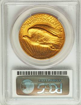 A Most Beautiful US Coin Design 1907 $20 High Relief  PCGS/CAC MS64