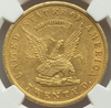"1853 U.S. Assay Office ""900"" $20 NGC MS61"