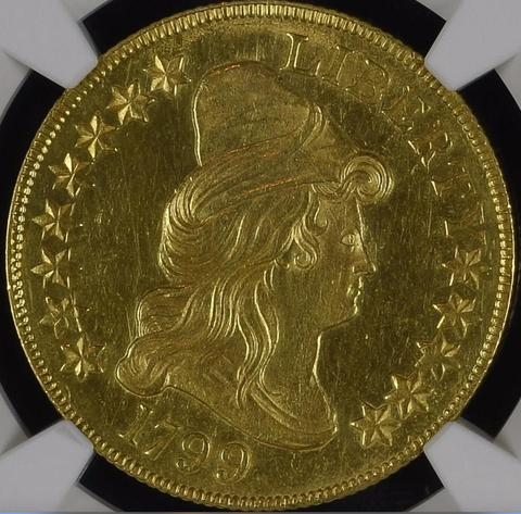1799 Draped Bust Eagle - MS61 - NGC