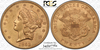 Image of First a 2, then a 3 – 1853/2 Liberty Double Eagle PCGS AU58