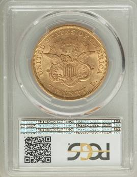 First a 2, then a 3 – 1853/2 Liberty Double Eagle PCGS AU58