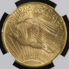 Image of Gem 1908-D Motto Saint Gaudens Double Eagle NGC MS66