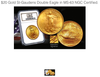 $20 Gold St-Gaudens Double Eagle in MS-63 NGC Certified