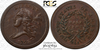Image of Highly Desirable 1793 Half Cent PCGS AU55