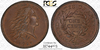 Incredible Gem 1793 Wreath Vine and Bars Large Cent PCGS/CAC MS65BN