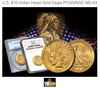 U.S. $10 Indian Head Gold Eagle PCGS/NGC MS-63