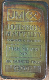 Image of Engelhard & Johnson Matthey- 100oz Silver Bars- All Silver is CME & London Approved (Spot + $6.75)- Call for the
