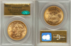 Image of S.S. Central America 1857-S Liberty Double Eagle  PCGS/CAC MS65