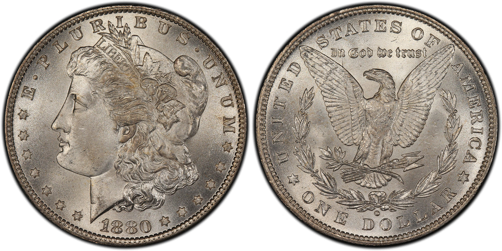 1880-O Morgan Silver Dollar (7 of 50)  - (R5)  - As part of the (50) and (10) coin set, this coin is available. As a single coin purchase in this venue, refer below.