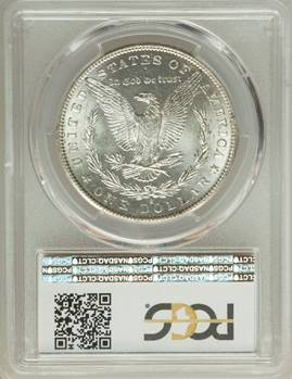 Rare Gem Morgan – 1883-S Morgan Dollar PCGS MS65
