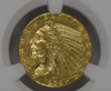 Image of Rare Unc. Key Date 1929 Indian Half Eagle NGC MS62