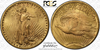 Image of Satiny Sashaying Saint – 1911 Saint Gaudens Double Eagle PCGS MS66