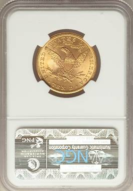 Sensational, Satin-Like 1901 $10 Liberty Eagle NGC MS67