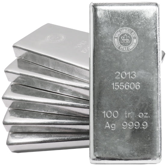 "All Silver is CME & London Approved - Call for the ""Lowest Price"" Anywhere!"
