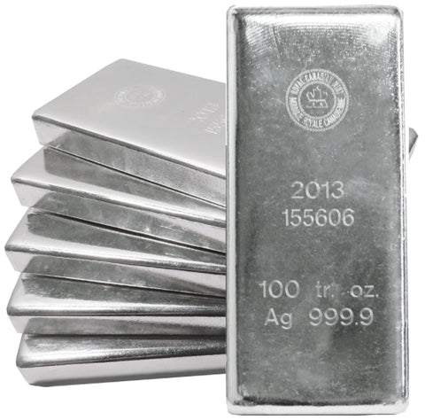 All Silver is CME & London Approved - Call for the