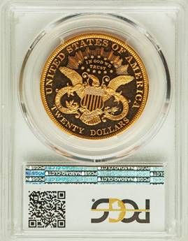 Stunning, Hypnotic 1883 Liberty Double Eagle PCGS PR65+ DCAM