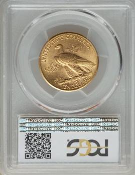 THE Condition Rarity of the Series - 1911-D Indian Eagle  PCGS MS64