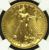 Image of THE Most Beautiful U.S. Coin? 1907 Wire Rim $20 High Relief  NGC/CAC MS63+