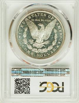 Three Way Tie for Highest Graded – 1886 Morgan Dollar  PCGS/CAC MS66+ DMPL