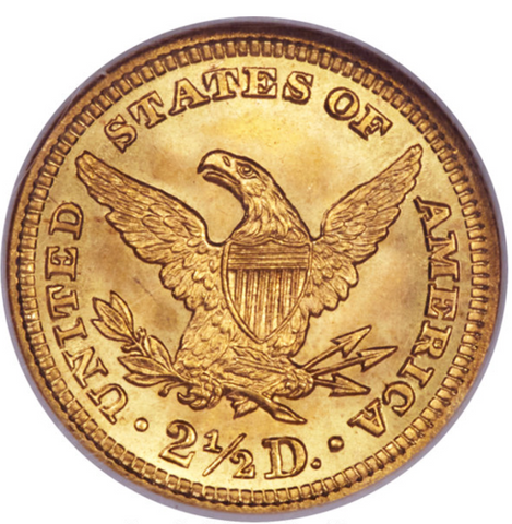 Tied for Highest Graded 1904 Liberty Quarter Eagle NGC MS68
