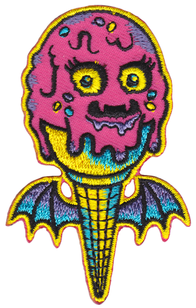 Sourpuss Ice Creep Cone Patch