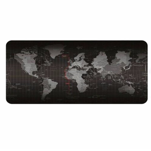 World Map Keyboard Mat