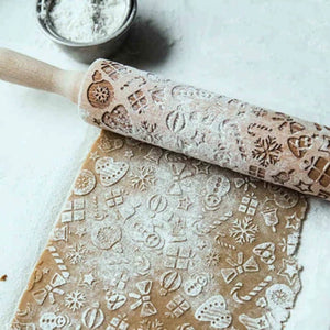 Easy Life™ Christmas Rolling Pin
