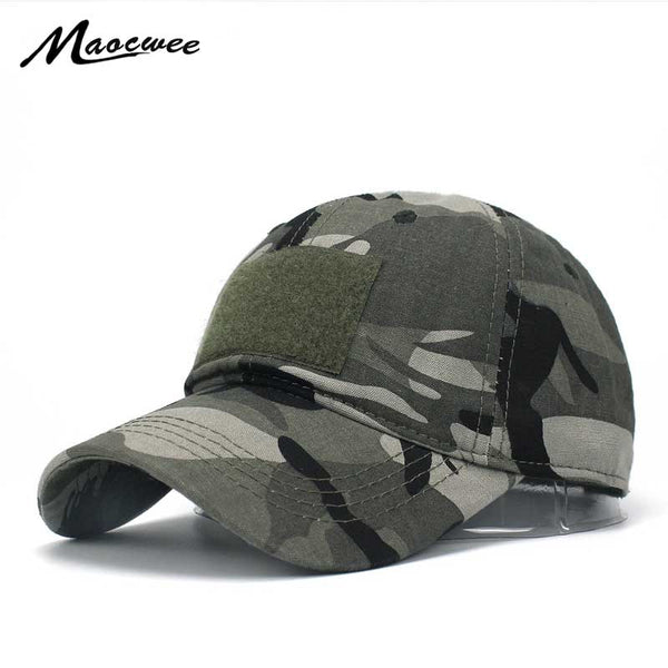 bebfaf3bbae Army Military Camouflage Tatical Cap Airsoft Paintball Outdoor Hunting  Baseball Caps Men Multicam Soldier Combat Sun Hat