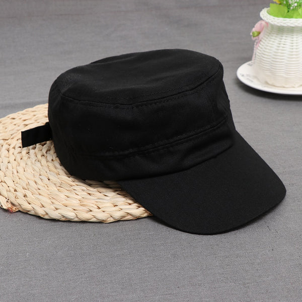155737c442d 1PC Fashion Men Women Multicolor Unisex Adjustable Classic Style Plain Flat Vintage  Army Hat Cadet Military Patrol Cap Best