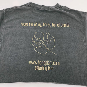 Boho Plant Comfort Color 'Pepper' T-Shirt