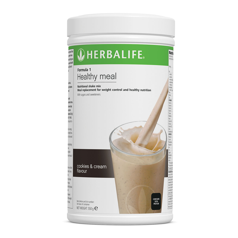 Cookies & Cream - Formula 1 Nutritional Shake Mix  550 g