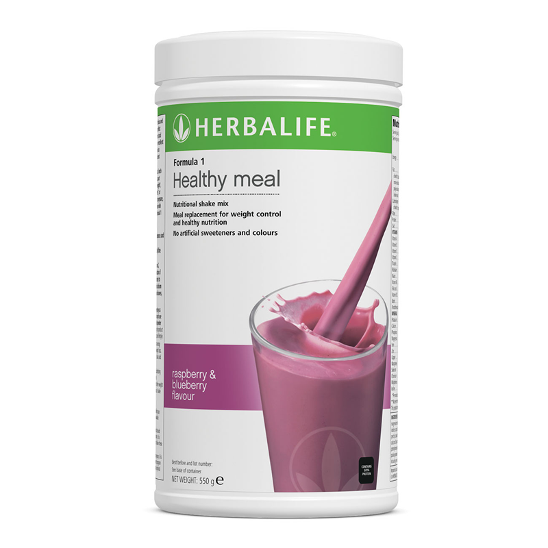Raspberry and Blueberry Formula 1 Nutritional Shake Mix  550 g